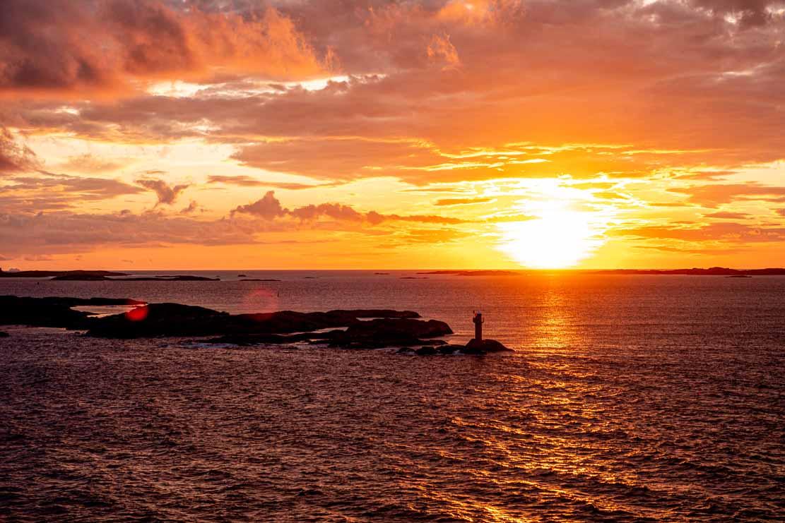 Sonnenuntergang bei der Insel Vinga (c) Frank Koebsch (5)
