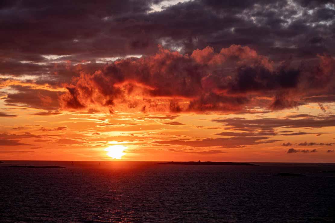 Sonnenuntergang bei der Insel Vinga (c) Frank Koebsch (8)