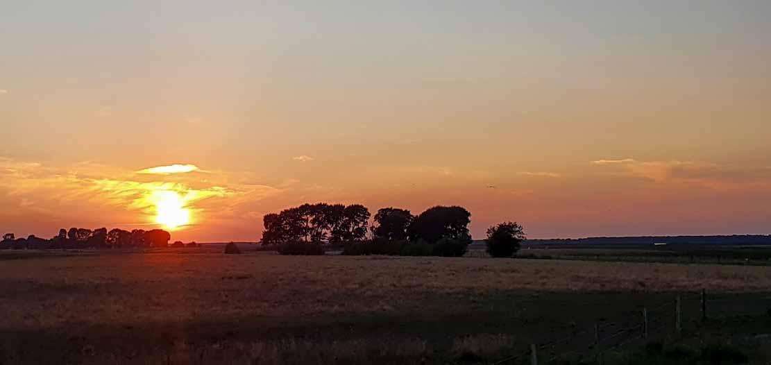 Sonnenuntergang über Bresewitz (c) Frank Koebsch (1)